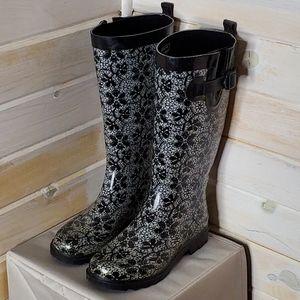 Capelli Rain Boots Floral Print